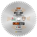 CMT 253.060.08 ITK Industrial Finish Sliding Compound Miter Saw Blade, 8-1/2-Inch x 60 Teeth 1FTG+2ATB Grind with 5/8-Inch Bore