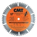 CMT 256.030.07 ITK Industrial Combination Saw Blade, 7-1/4-Inch x 30 Teeth 1FTG+4ATB Grind with 5/8-Inch<> Bore