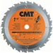 CMT 272.136.36D ITK Industrial Finish Saw Blade, 5-3/8-Inch x 36 Teeth 1FTG+4ATB Grind with 10mm Bore
