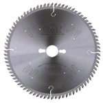 CMT 283.080.10M Industrial Melamine & Fine Cut-Off Saw Blade, 250mm (9-27/32-Inch) X 80 Teeth 40º ATB with 30mm Bore