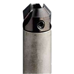 CMT 316.050.12 Countersink for 4 Flute Drills with 5mm Shank, 16mm Diameter, Left-Hand Rotation