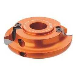 CMT 694.007.31 Roundover and Cove Cutter Head, 4-3/4-Inch Diameter, 1-1/4-Inch Bore