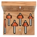 Cmt 800.504.11 6 Piece Router Bit Set