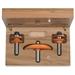 CMT 800.512.11 3-Piece Standard Kitchen Set in Hardwood Case, 1/2-Inch Shank