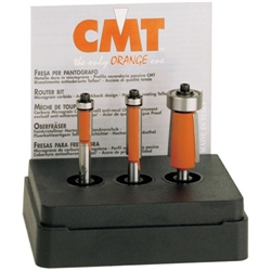 Cmt 806.001.11 3-Pcs Flush Trim Bit Set
