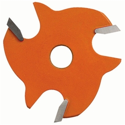 CMT 822.005.11 2-Wing Slot Cutter, 1-7/8-Inch Diameter, 15/32-Inch Bore