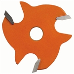 CMT 822.007.11 2-Wing Slot Cutter, 2-1/8-Inch Diameter, 5/16-Inch Bore