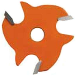 CMT 822.332.11 3-Wing Slot Cutter, 1/8-Inch Cutting Length, 5/16-Inch Bore