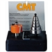 CMT 835.001.11 Rabbeting Set, 1/4-Inch Shank, Carbide-Tipped