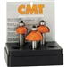 Cmt 837.501.11 3-Pcs Cove Bit Set