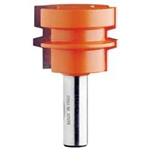 CMT 855.501.11 Reverse Glue Joint Bit, 1/2-Inch Shank, 1-3/4-Inch Diameter, Carbide-Tipped