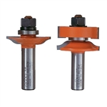 CMT 855.803.11MF 2-Pcs Ogee Rail & Stile Bit Set, 1/2-Inch Shank