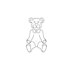 Cmt Rcs-906 Teddy Bear Template