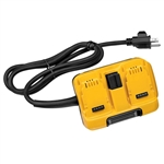 DEWALT DCA120 FLEXVOLT 120V Corded Power Supply Adaptor