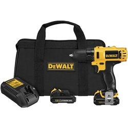 "Dewalt DCF813S2 12 Volt Max Cordless Lithium Ion 3/8"" Impact Wrench Kit"