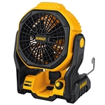 DeWalt DCE511B 20V/AC Powered Jobsite Fan