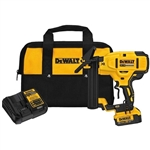 DEWALT 20V MAX XR 18 Gauge Flooring Stapler Kit (4.0 Ah)