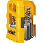 DEWALT DW1969 29 Piece Pilot Point Twist Drill Bit Assortment