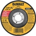 "Dewalt DW8750 4-1/2"" X 3/32"" X 7/8"" ABRASIVE - HP T27 CUTTING WHEELS"