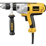 "Dewalt DWD525K 1/2"" VSR Mid-Handle Grip Hammerdrill Kit"