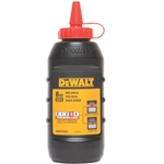 DWHT47048L Red 8 oz Chalk by Dewalt