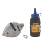 DWHT47309L Cast Aluminum Chalk Reel with Blue Chalk by Dewalt