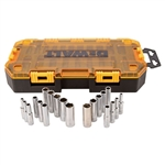 "DWMT73811 20 Piece 1/4"" Drive Deep Socket Set by Dewalt Tools"
