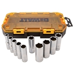 "DWMT73814 10 Piece 1/2"" Drive Deep Socket Set (SAE) by Dewalt Tools"