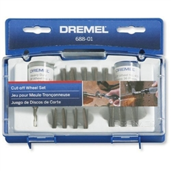 Dremel 688-01 69 Piece Rotary Tool Cut-Off Wheel Set