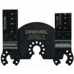 Dremel MM491 3 Piece Assorted Saw Blade Pack, Multi Max Blades