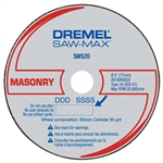 SM520C Masonry Cut-Off Wheel by Dremal Accessories