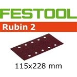 Festool 499034  P120 Grit, Rubin 2 Abrasives for RS 2 E, Pack of 50-Sanders : Abrasives : RS 2 E Abrasives