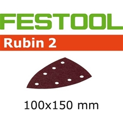 Festool 499135  P80 Grit, Rubin 2 Abrasives for DTS 400, Pack of 50-Sanders : Abrasives : DTS 400 Abrasives