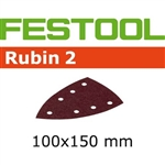 Festool 499140  P220 Grit, Rubin 2 Abrasives for DTS 400, Pack of 50-Sanders : Abrasives : DTS 400 Abrasives