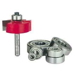 Freud Router Bits: 32-504 Rabbeting Bit with Bearings - Joinery