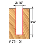 Freud Router Bits: 75-101 Up Spiral Bit - Straight, Spiral & Trim Bits