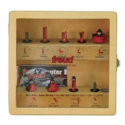 Freud 88-100 9 PIECES ROUTER BIT SET