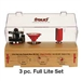 Freud Tools 3 PIECE Cove And Bead Full Lite French Door ROUTER BIT Set