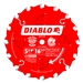 Diablo D0516X 5-3/8 Inch Circular Saw Blades for Wood Cutting Cutting by Freud
