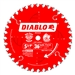 Diablo D0536X 5-3/8 Inch Circular Saw Blades for Wood Cutting Cutting by Freud