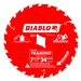 Diablo D0724W 7-1/4 Inch Circular Saw Blades for Wood Cutting Cutting by Freud - 10 Pack