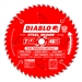 Diablo D0748F 7-1/4 Inch Circular Saw Blades for Metal Cutting Cutting by Freud