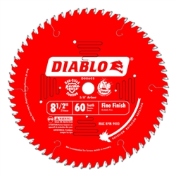 Diablo D0860S 8-1/2 Inch Circular Saw Blades for Wood Cutting Cutting by Freud