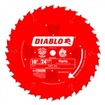 Diablo D1024X 10 Inch Circular Saw Blades for Wood Cutting Cutting by Freud