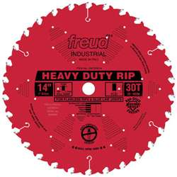 Freud LM72R014 14 Inch Diameter 30 Tooth FTG Ripping Saw Blade with 1-Inch Arbor and PermaShield Coating