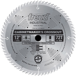 Freud LU73M014 14 Inch 84 Tooth 1 Arbor ATB Industrial Cabinetmaker's Crosscut Blade