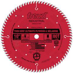 Freud LU79R010 10 Inch 80 Tooth HI ATB IND. Teflon COATED Saw Blade