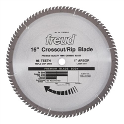 "Freud LU82M016 16"" Diameter x 96T TCG Stacked Chipboard Carbide"