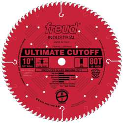 Freud Lu85R010 10 X 80 X 5/8 Atb Red Perma Shield Blade