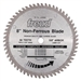 "Freud LU89M008 8"" Diameter x 58T TCG Industrial Thick Non-Ferrous Metal Carbide-Tipped Saw Blade with 5/8"" Arbor (.122 Kerf)"